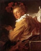 Жан Оноре Фрагонар. Портрет месье  Де ла Бретеш