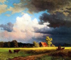 Альберт Бирштадт. Баварский пейзаж