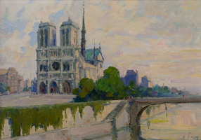 Khachatur Akopovich Yesayan. Notre Dame Cathedral