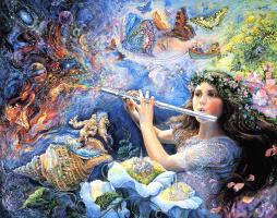 Жозефина Уолл. Очарованный флейтой