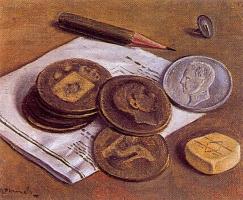 Анхель Планеллс. Монеты