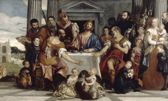 Paolo Veronese. Dinner at Emmaus