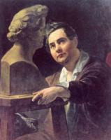Карл Павлович Брюллов. Портрет скульптора Ивана Витали