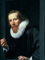 Вернер ван ден Валкерт. Портрет мужчины с перстнем и пробирным камнем