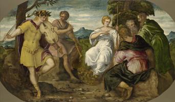 Jacopo Tintoretto. The Contest between Apollo and Marsyas