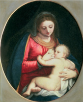 Софонисба Ангвиссола. Мадонна с младенцем