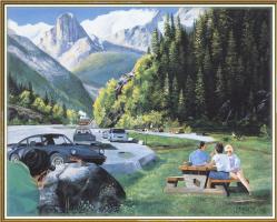 Эндрю Кисс. Пикник в горах