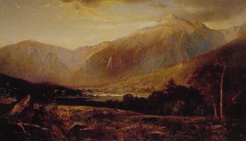 Томас Хилл. Гора Вашингтон