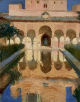 Хоакин Соролья (Соройя). Зал послов, Альгамбра, Гранада