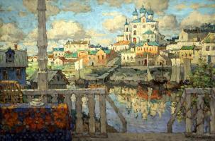 Константин Иванович Горбатов. Псков