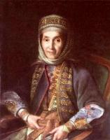 Иван Петрович Аргунов. Портрет А. А. Лазаревой. 1769