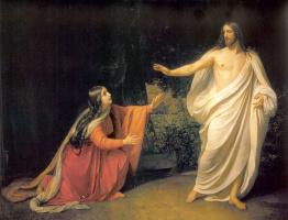 Александр Андреевич Иванов. Явление Христа Марии Магдалине после воскресенья