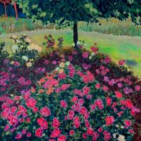 Tatiana An. Rose garden