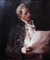 """Михай Либ Мункачи. Певец. Этюд к картине """"Смерть Моцарта"""""""
