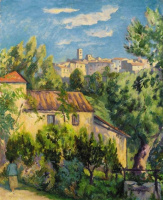 Henri Manguin. Farm, Saint-Paul de Vence