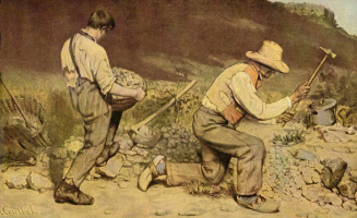 Gustave Courbet. The breaker of stones