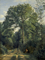 Камиль Коро. Опушка леса в Виль д`Авре
