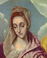 Эль Греко (Доменико Теотокопули). Святое семейство со Святой Анной (фрагмент)