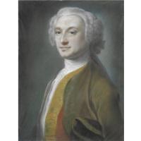 Розальба Каррьера (Каррера). Портрет джентльмена в зеленом комзоле