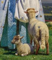 Форд Мэдокс Браун. Милые овечки. Фрагмент III