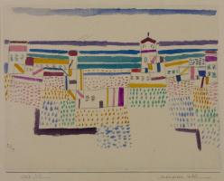 Paul Klee. Seaside Resort in the South of France