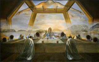 Salvador Dali. Last supper