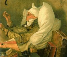 Карл Шпицвег. Бедный поэт. Фрагмент