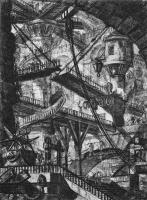 Джованни Баттиста Пиранези. Тюрьма с деревянными галереями