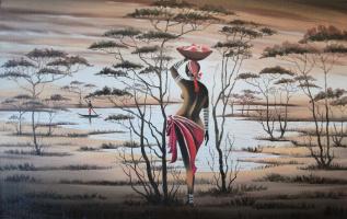 Africa. Donna 35х55. 2014г.