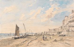 John Constable. Brighton Beach Looking West