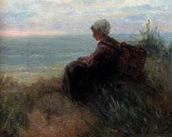 Йозеф Исраэлс. Ожидание у моря