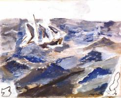 Джон Марин. Море, лодки