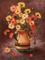 Elena Sh. Bunch of calendula