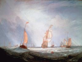 Joseph Mallord William Turner. Hellevoetsluis. Access to the sea