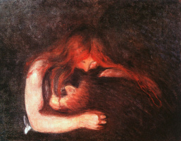 Edward Munch. Vampire