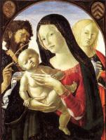 Нероккио Де Ланди. Мадонна с младенцем и Святым Иоанном Крестителем