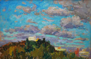 Victor Grigorievich Sevastyanov. Autumn sky