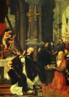 Адриан Изенбрант. Масса святителя Григория