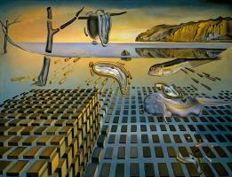 Salvador Dali. Disintegration of memory persistence