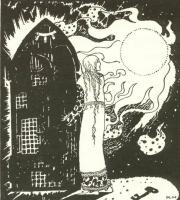 Кей Нильсен. Иллюстрация к  сказке  На восток от солнца, на запад от луны 05