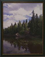 К. Грещук. Лесное озеро