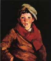 Роберт Генри. Слушающий мальчик