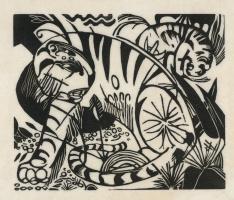 Франц Марк. Тигры