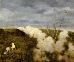 Джузеппе де Ниттис. Проходящий поезд