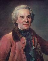 Морис Кантен де Латур. Граф Мориц Саксонский, маршал Франции
