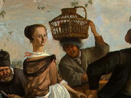 Ян Стен. Танцы (фрагмент)