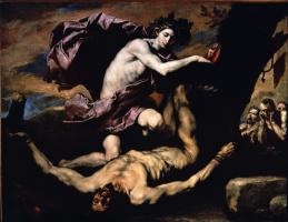 Jose de Ribera. Apollo and Marsyas