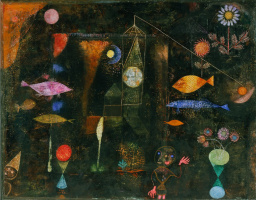 Paul Klee. Magic fish