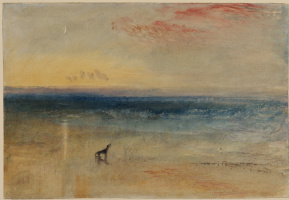 Joseph Mallord William Turner. Dawn after the wreck