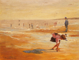 Маргарита Руссо. На пляже